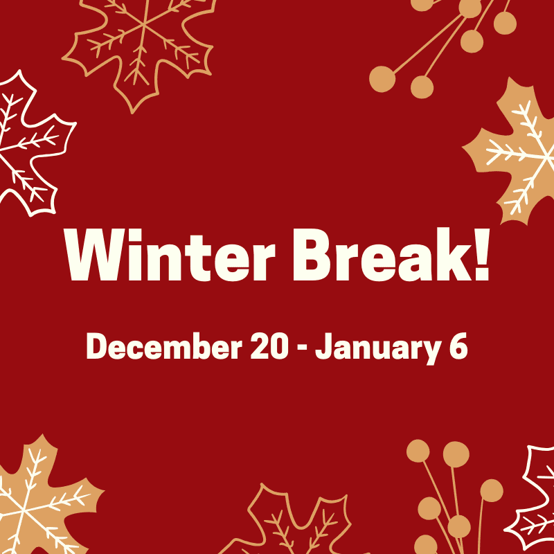 Winter break activities for kids at the Clinton House Museum from December 20 to January 6
