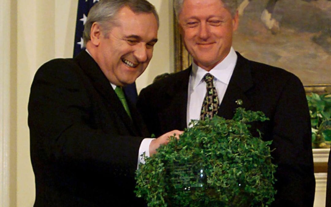How Irish are the Clintons?